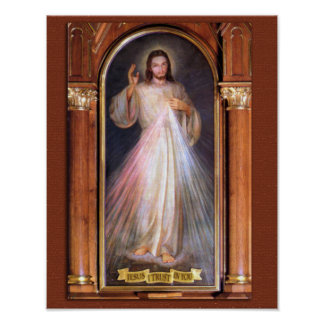 THE DIVINE MERCY DEVOTIONAL IMAGE (ORIGINAL) POSTER