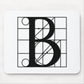 The Divine Proportion - B Mouse Pad