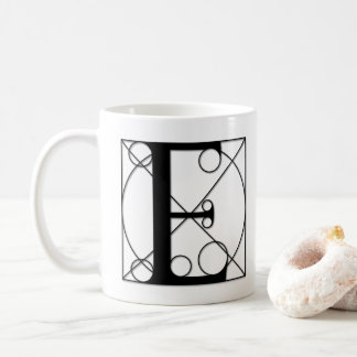 The Divine Proportion - E Coffee Mug