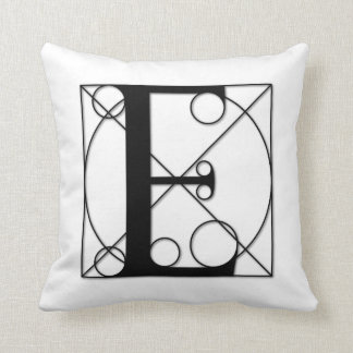 The Divine Proportion - E Throw Pillow