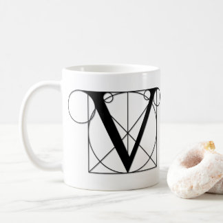 The Divine Proportion - V Coffee Mug