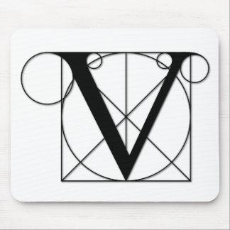 The Divine Proportion - V Mouse Pad