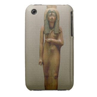 The divine queen Ahmose Nefertari (painted wood) iPhone 3 Cases