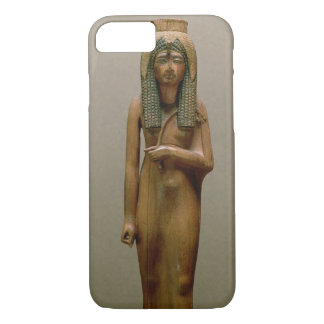 The divine queen Ahmose Nefertari (painted wood) iPhone 7 Case