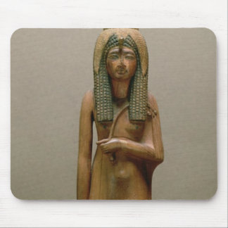 The divine queen Ahmose Nefertari (painted wood) Mouse Pad