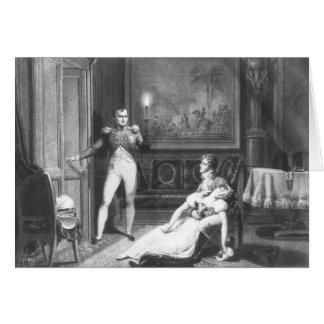 The Divorce of Napoleon I Card