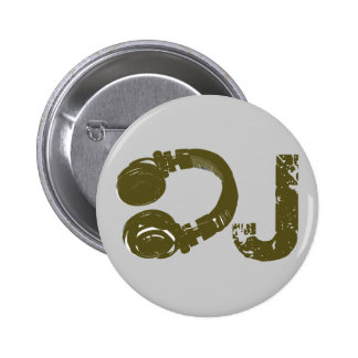 The DJ list 2 Inch Round Button