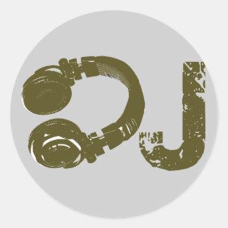 The DJ list Sticker