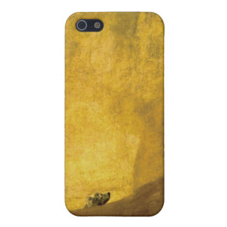 The dog, by Francisco de Goya iPhone 5 Case