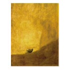 The dog, by Francisco de Goya Postcard