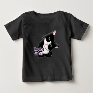 The dog did it Cat Baby T-Shirt