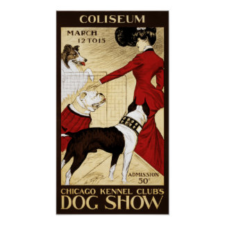 The Dog Show Poster