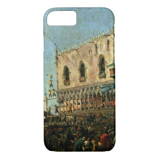 The Doge in the Shrove Tuesday Festival on the Pia iPhone 7 Case