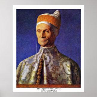 The Doge Leonardo Loredan By Giovanni Bellini Poster