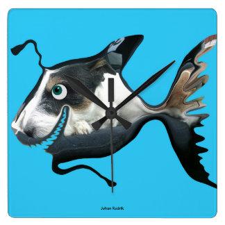 The Dogfish Wallclock