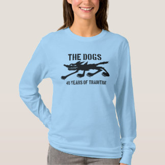 The Dogs 40th Logo in Black T-Shirt