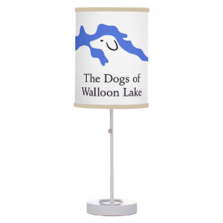The Dogs of Walloon Lake Lamp