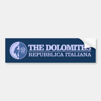 The Dolomites (Climbing) Bumper Sticker