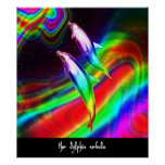 the dolphin nebula poster