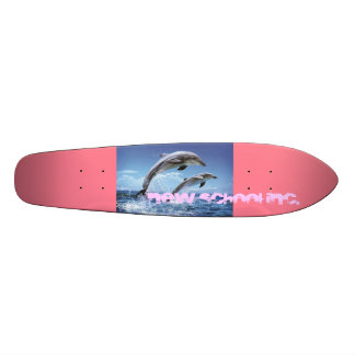 the dolphin rider board skate deck