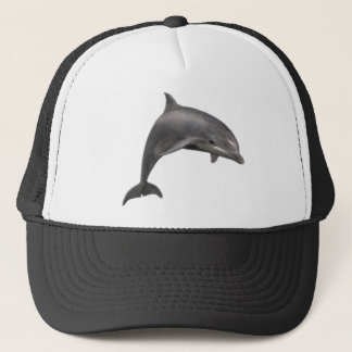 THE DOLPHINS LEAP TRUCKER HAT