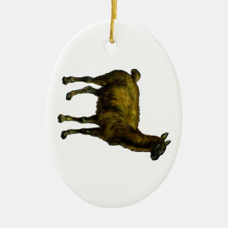 The Domesticated One Ceramic Ornament