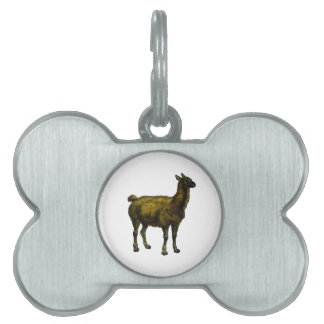 The Domesticated One Pet Tag