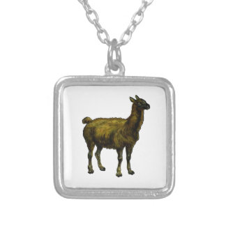 The Domesticated One Silver Plated Necklace