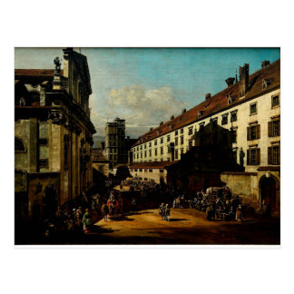 The Dominican Church in Vienna  Bernardo Bellotto Postcard