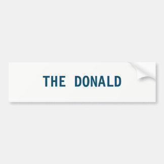 THE DONALD BUMPER STICKER