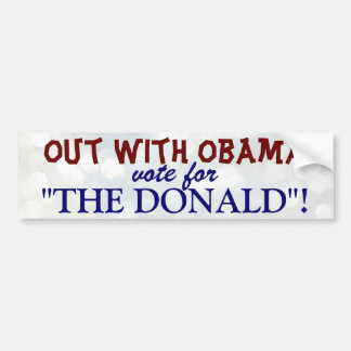 The Donald Bumper Sticker
