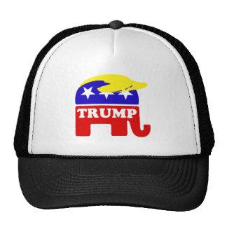 The Donald Trump Toupee Republican Elephant Trucker Hat