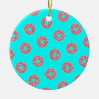 The Donut Pattern I Ceramic Ornament