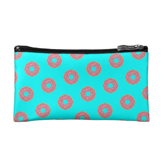 The Donut Pattern I Cosmetic Bag