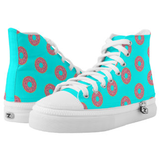 The Donut Pattern I High Tops