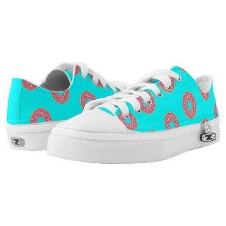 The Donut Pattern I Low-Top Sneakers