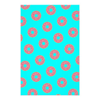 The Donut Pattern I Stationery