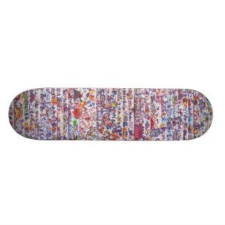 The Doodle Wars Skateboard