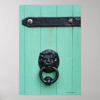 The door knocker of the Gardner Poster