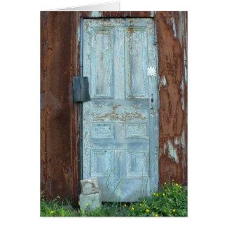 The Door Notecard