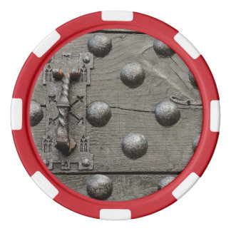 the door of a castle  Poker Chips