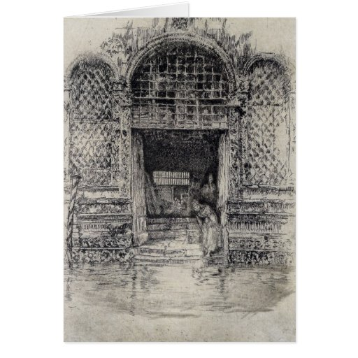 The Doorway by James Abbott McNeill Whistler Cards