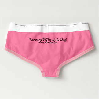 The DOPing Newz - DOPer of the Day Briefs (Pink)