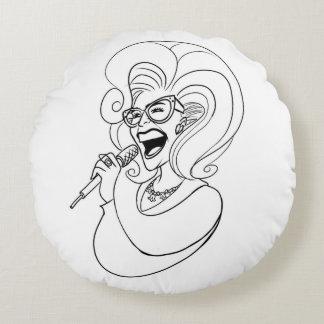 The Doris Dear pillow! Round Pillow