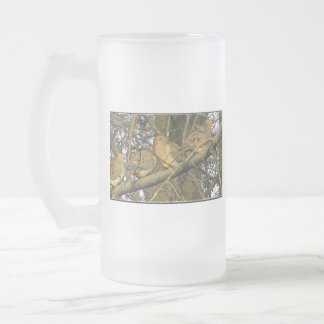 The Dovey Doves ♥ Glass Beer Mugs