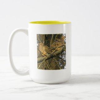 The Dovey Doves ♥ Two-Tone Mug