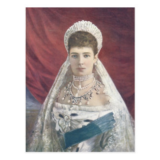 The Dowager Empress Of Russia Postcard