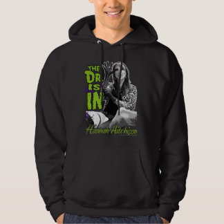 The Dr. is IN! Pullover hoodie