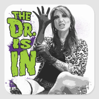 The Dr. is IN! sticker