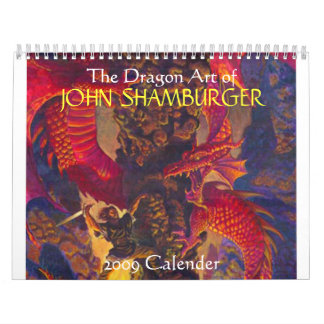 The Dragon Art of 2009 Calender Calendars